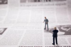 ニュースペーパーの紙面