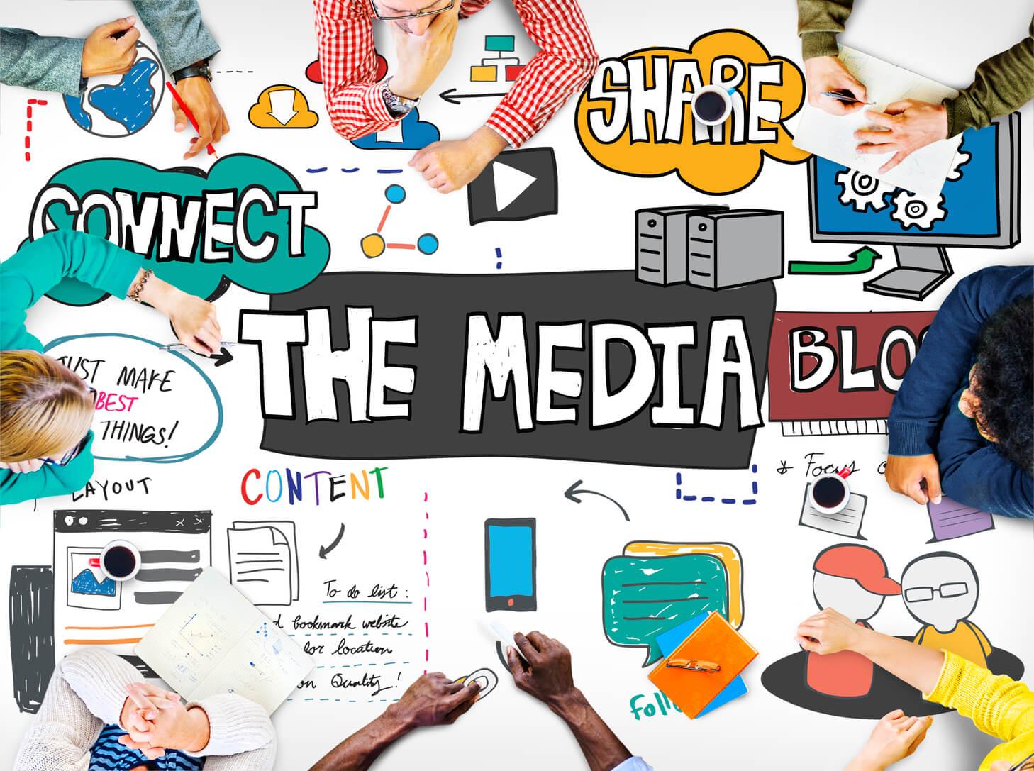 メディアの連携
