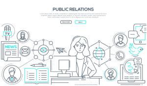 社内広報のイメージ