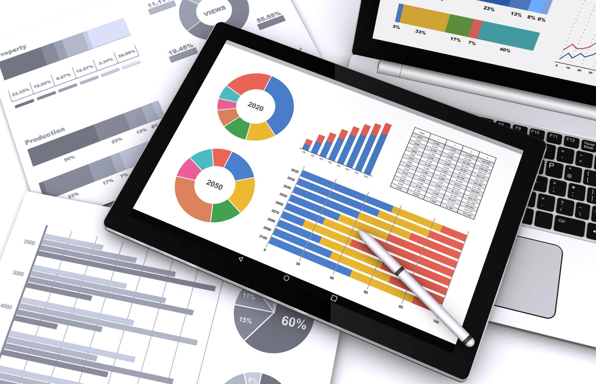 データと分析の表